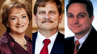 Cathie Adams, Tom Mechler, and Steve Munisteri