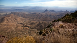 A view of northern Mexico from the South Rim of the Chisos Mountain in Big Bend National Park. The U.S. Environmental Protection Agency is proposing a new clean air rule aimed at easing hazy conditions in Big Bend and other national parks and wilderness areas in Texas and surrounding states. It is pursuing the so-called BART rule after Texas successfully challenged a similar regulation in court.