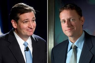 Ted Cruz, Peter Thiel