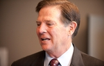 Former U.S House Majority Leader Tom DeLay before opening arguments in his trial on Nov. 1, 2010.