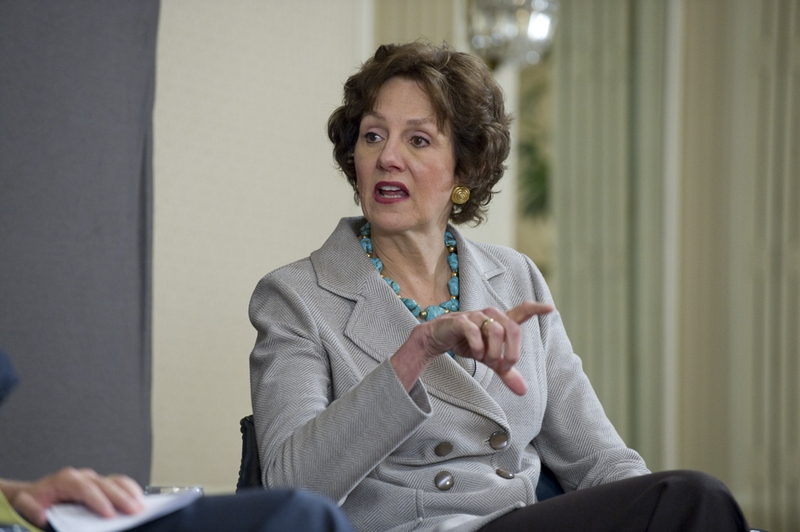 Texas Comptroller Susan Combs at a TribLive event at the Austin Club on Oct. 20, 2011.