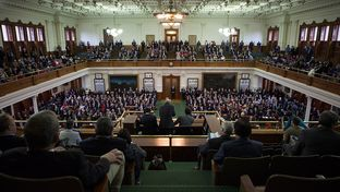 The Texas Senate on the opening day of the 83rd legislative session on Jan. 8, 2013.