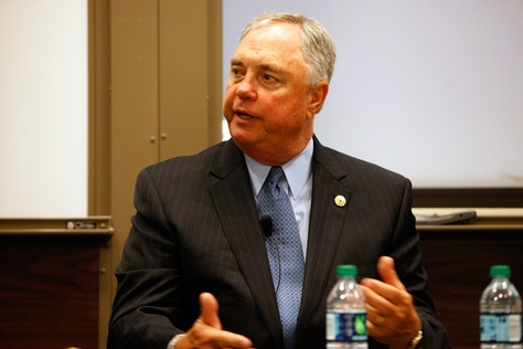 Rep. Drew Darby discusses the upcoming 83rd Texas legislative session at The Texas Tribune Festival 2012.