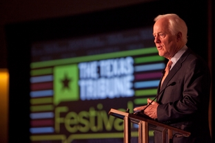 Energy Keynote: Are Texas Jobs the Next Endangered Species? with U.S. Senator John Cornyn at the Texas Tribune Festival 2011.