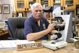 Dr. Nizam Peerwani, Tarrant County medical examiner, is the new chairman of the Texas Forensic Science Commission.