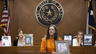 Jeanne Brown, whose daughter Alex Brown died in a 2009 accident while texting and driving, spoke Jan. 29, 2013, in support of a bill making texting and driving illegal. Texas is one of 11 states without a state-wide ban on texting while driving, though multiple cities have passed ordinances making it illegal.