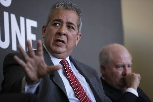 Robert Puente, president and CEO of the San Antonio Water System, at The Texas Tribune Festival in 2012.