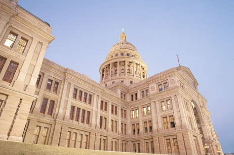 Texas Capitol on Feb 22nd.