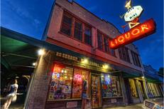 Wiggy's Liquor, August 7, 2010 in West End, Austin, TX.