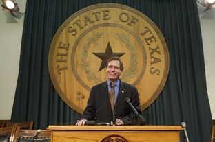 State Rep. John Zerwas, R-Simonton, is all smiles after the House passed SB7 the health reform bill on June 27, 2011.