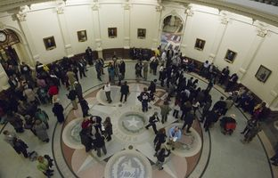 Living close to the capital city, Central Texans have relatively easy access to state lawmakers during the biennial legislative session. But in a state as big as Texas, most of the state's population must follow the action from up to hundreds of miles away.