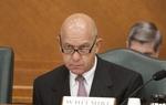Sen. John Whitmire D-Houston during finance committee meeting in June 2011