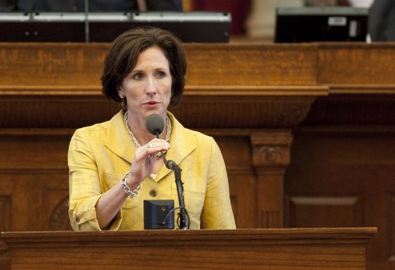 Rep. Lois Kolkhorst R-Brenham, speaks during HB5 debate on June 15th, 2011