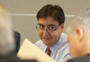 State Rep. Pete Gallego, D-Alpine, during State Affairs Committee Hearing on March 14th, 2011