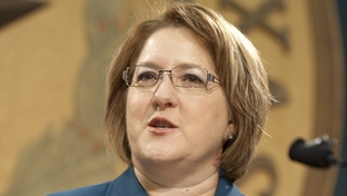 Former gubernatorial candidate Debra Medina on Sept. 22, 2011, at a press conference on cronyism in Texas politics
