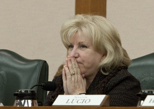 Sen Jane Nelson R-Flower Mound during Senate Finance Committee meeting on April 19th, 2011