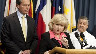 Sen. Jane Nelson and Lt. Gov. David Dewhurst introduce legislation designed to improve Texas health care.
