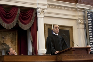 Chief Justice Wallace Jefferson give the State of the Judiciary in House Chamber February 23, 2011