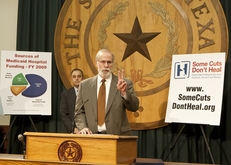 Leaders from Texas Hospital Association and other hospital groups urge members of the Texas House to protect funding for local hospitals, doctors and nurses. March 29th, 2011