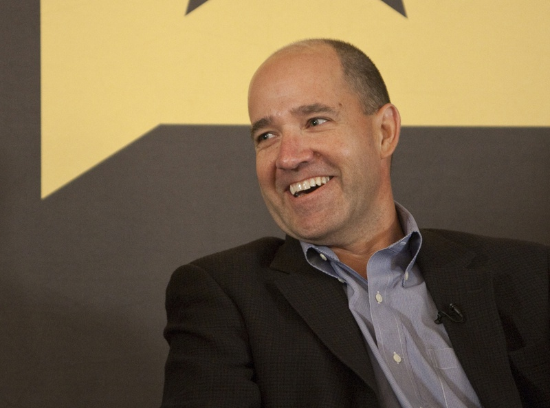 Political commentator Matthew Dowd speaks at a Texas Tribune event on June 28th, 2012.