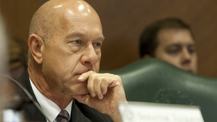 Sen. John Whitmire D-Houston listens during an October 4th, 2011 business and commerce committee meeting.