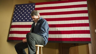 Rick Perry before a speech in Carroll, Iowa, on Jan. 2, 2012.