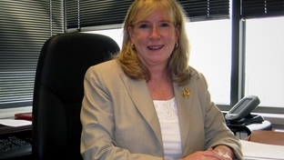 DFPS Commissioner Anne Heiligenstein