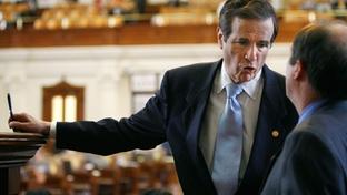 Former state Rep. Bill Zedler, R-Arlington, on the Texas House floor in 2007