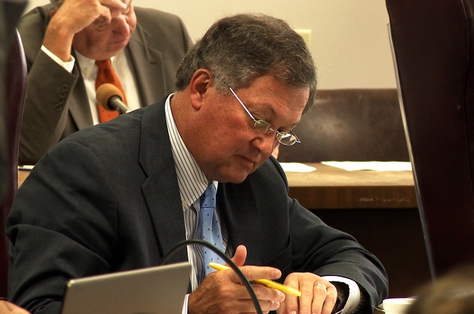 State Board of Education member Bob Craig,  R-Lubbock,  at the board's hearing Sept. 24, 2010.