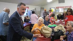 U.S. Rep. Ciro Rodriguez, D-San Antonio, meets with constituents.