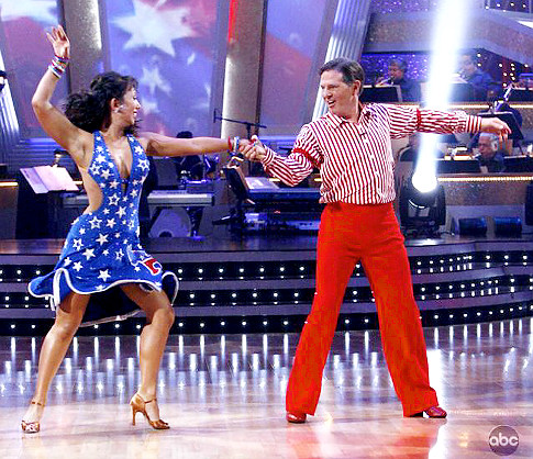 Tom Delay on Dancing with the Stars