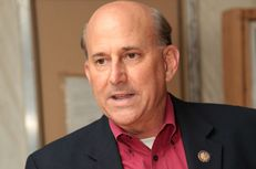U.S. Rep. Louie Gohmert, R-Tyler, is shown at the annual alumni Aggie Muster on April 21, 2012, at Camp Leatherneck in Afghanistan's Helmand Province.