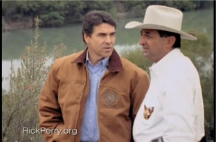 "A screengrab from Perry's ""Border"" spot."