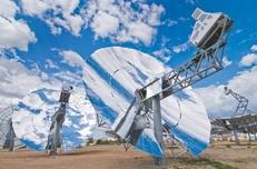 SunCatchers that Tessera Solar plans to install near Marfa.
