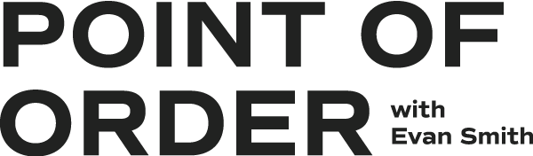 Series logo for Point of Order