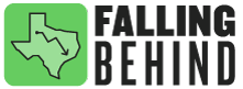 Series logo for Falling Behind