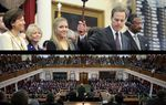 The kickoff of the 83rd legislative session packed few surprises. The Texas Senate voted on rules, Joe Straus won without breaking a sweat, Comptroller Susan Combs announced the state budget forecast and Gov. Rick Perry laid out his priorities for the 140-day session.