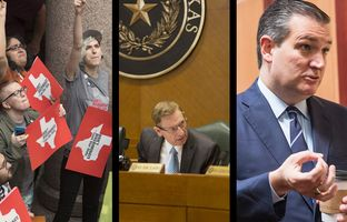 Who can use what bathroom dominated the talk at the Texas Capitol this week.
