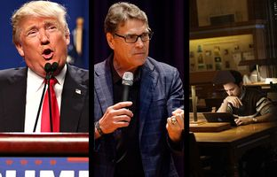 In the Roundup: Donald Trump scores an unprecedented endorsement, Rick Perry's Republican primary ballot might have gotten lost in the mail and a higher ed admissions policy goes under the microscope.