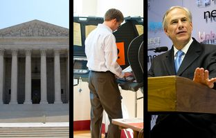 """In the Roundup:The U.S. Supreme Court upholds the way Texas and several other states divvy up legislative districts, Wisconsin Republican voters back Ted Cruz over GOP presidential frontrunner Donald Trump, and Gov. Greg Abbott is adding """"published author"""" to his résumé."""