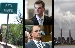This week in the Newsreel: Lite guv candidates ramp up their attack ads, a Texas-Oklahoma border dispute pits landowners against one another and the BLM, and SCOTUS knocks down a challenge to an EPA rule on cross-state pollution.
