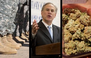 "This week in the Roundup: Gov. Greg Abbott calls the Garland shooting a ""heinous crime,"" Abbott also defends his decision to order the Texas State Guard to monitor a federal military training exercise, and the Legislature advances key measures as the end of session nears."