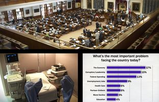 This week in the Texas Weekly Newsreel: The end of the special session is in sight, the latest University of Texas/Texas Tribune polls are out and a judge says new school finance litigation case will begin in January.
