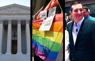 In the Roundup:  The U.S. Supreme Court temporarily halts implementation of a Texas abortion law, same-sex newlyweds enjoy the benefits of legal matrimony and Texas leaders weigh in on county clerks' religious freedom rights.