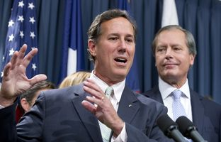 Former Pennsylvania Sen. Rick Santorum joined Texas GOP legislators on Thursday to tout proposed abortion regulations and criticize media coverage of the debate. Watch his full comments here.