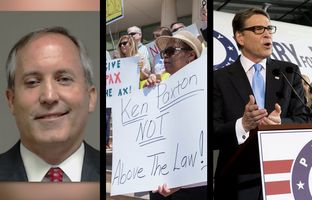 In the Roundup: Ken Paxton, Texas' top law enforcement official, finds himself facing felony charges and calls from Democrats to step down.Plus, GOP presidential candidates Ted Cruz and Rick Perry debate at different times.
