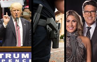 In the Roundup: Donald Trump loses key Hispanic support in Texas after laying out his immigration policy, police departments in the state's largest cities don't always report when cops pull the trigger and Rick Perry prepares to strap on his dancing shoes.