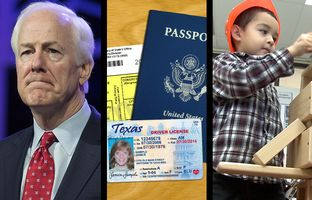 In the Roundup: U.S. Sens. John Cornyn and Ted Cruz continue their less than adoring relationship, the federal government says Texas is misleading voters on relaxed ID requirements ahead of the November election and a new study shows smaller is better when it comes to pre-K class sizes.