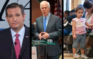In the Roundup: Ted Cruz stays quiet in the second GOP debate, John Cornyn dismisses a possible government shutdown and more Texans have health insurance, according to the latest U.S. Census data.