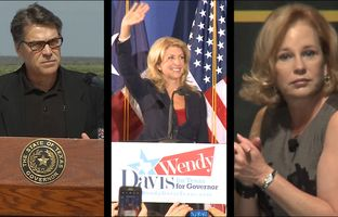 This week in the Texas Weekly Newsreel: Gov. Rick Perry and others are traveling the state encouraging voters to approve water funding, first lady Anita Perry makes news with her views on abortion and Wendy Davis makes if official.